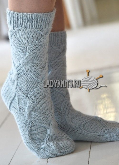 1000+ images about Knit socks on Pinterest | Cable, Yarns ...