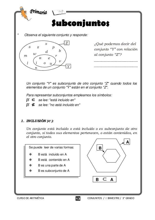 Teoria De Conjuntos Education Bca Bullet Journal