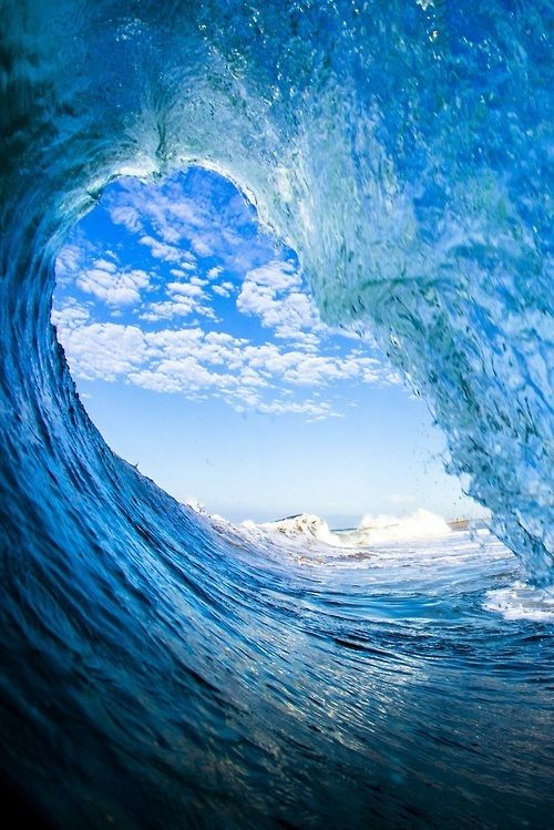 Blue Wave  INTIMACY WITH GOD IS WHY THE COMPULSION DEVELOPED TO SURF