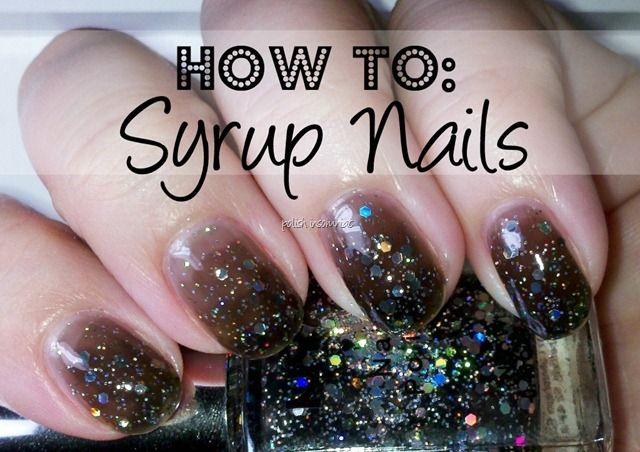 Love this look!  Syrup Nails via Polish Insomniac