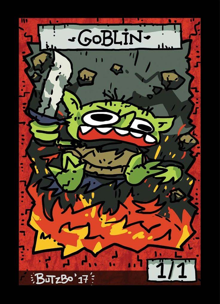 Goblin 2 Token for MTG (Butzbo)