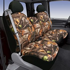 (Limited Supply) Click Image Above: Saddleman Camo Neoprene Seat Covers - Camouflage Car Seat Covers