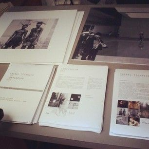 Aroma30 Press kit and moodboards for exhibition