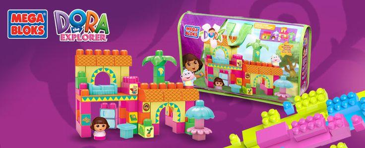 ¡Ya viene el día de niño! Sorprénde a tu pequeña con estos juguetes Mega Bloks de Dora la Exploradora. Walmart.com.mx, Hacemos Clic!