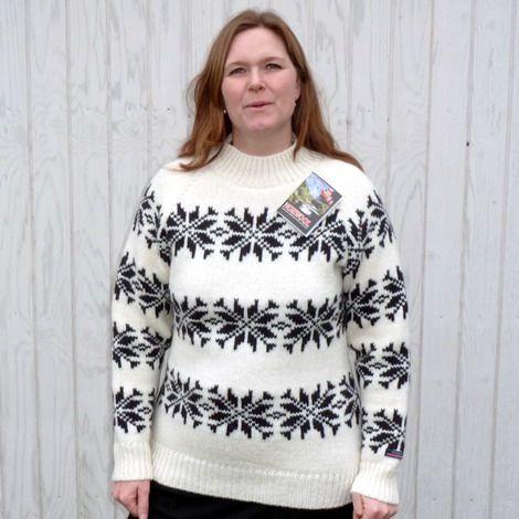 """Norwool strik """"Sara Lund"""" model"""