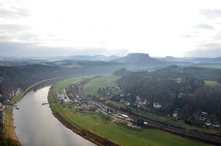 Kurort Rathen from Bastei