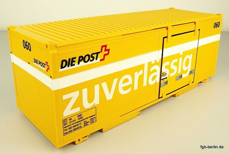 Swiss Post Container 060