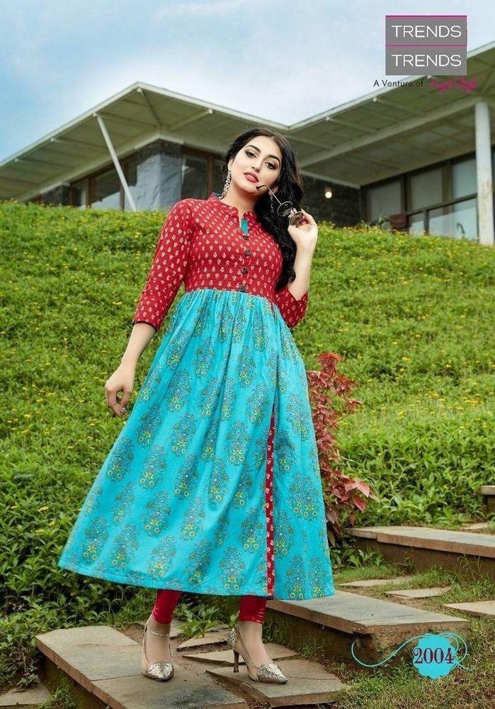 b1c69427c02d1 Indian Bollywood Women Kurta Kurti Pakistani Designer Ethnic Dress Top  Tunic New
