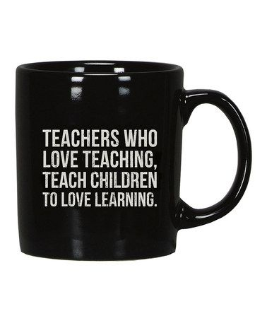 This 'Teachers' Coffee Mug is perfect! #zulilyfinds