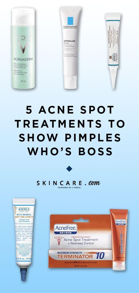 The Best Acne Spot Treatments Best Acne Spot Treatment Acne