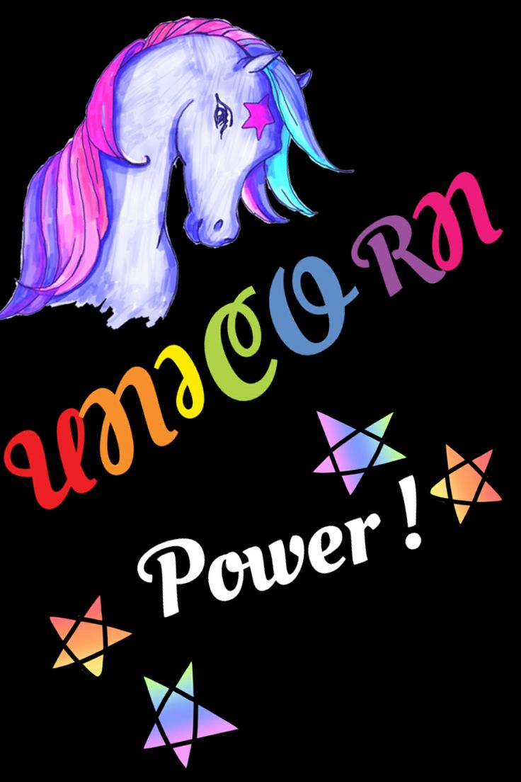 Unicorn With Wings And Rainbow Unicorn power :) | Cut...