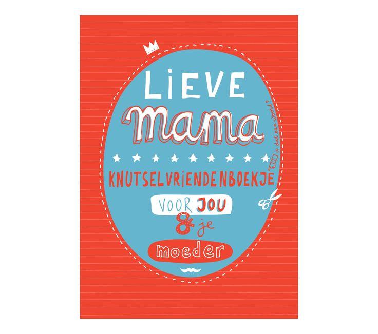 Invulboekje - Lieve mama www.Millows.nl