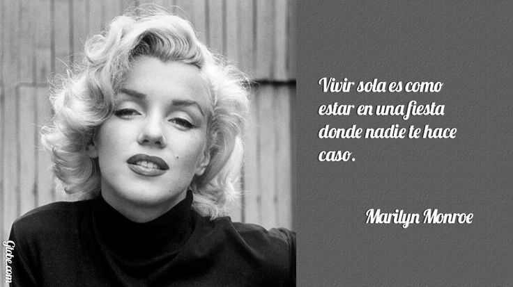 Marilyn Monroe Quotes In Spanish: 21 Best Images About Marilyn Monroe On Pinterest