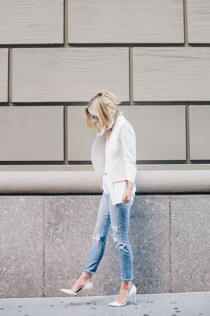 Best 25+ White blazer women ideas on Pinterest