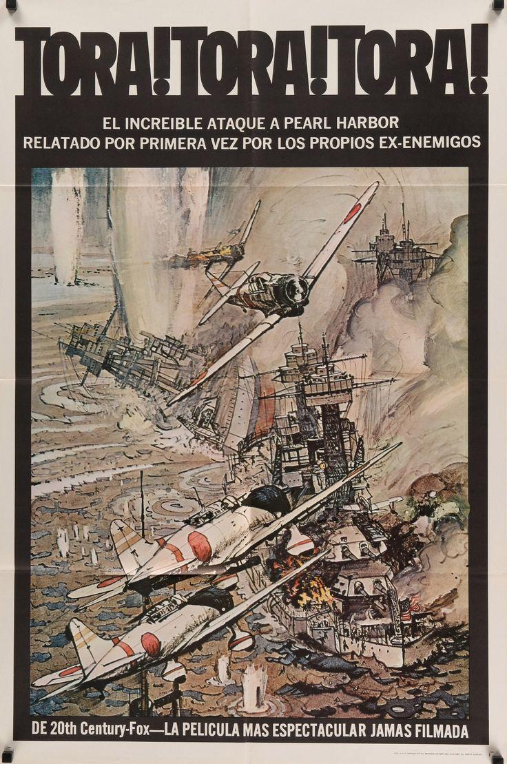 "Tora Tora Tora (1970) Vintage One Sheet Movie Poster- 27""x41"""