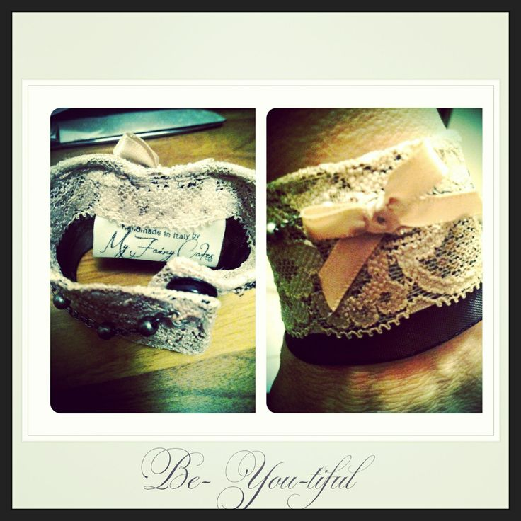 Lace cuff Handmade by My Fairy Cakes