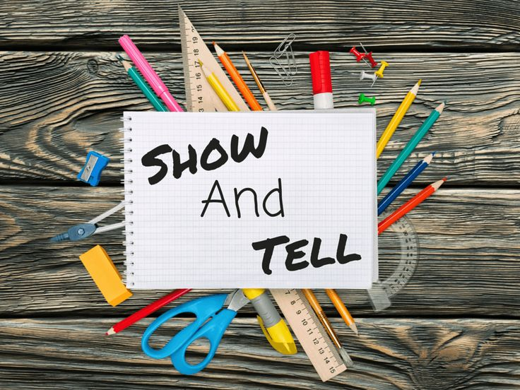 Show & Tell. Just like you used to do at school... only for adults.