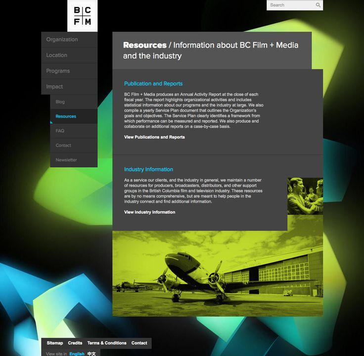 BCFM webpage