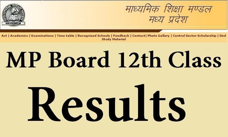 Pin On Mp Board Result 2019
