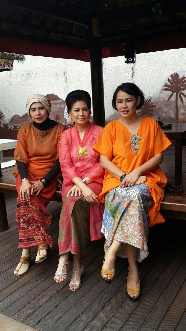 #kebaya#orange - gheia amel wendy