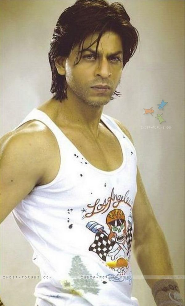 Shah Rukh Khan. I love this pic.