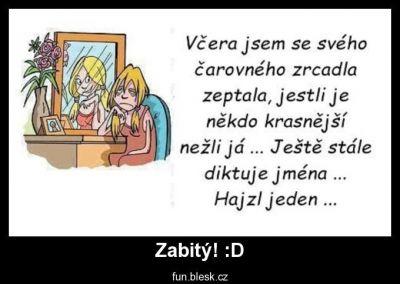 Podlé zrcadlo | Vtipné obrázky - obrázky.vysmátej.cz