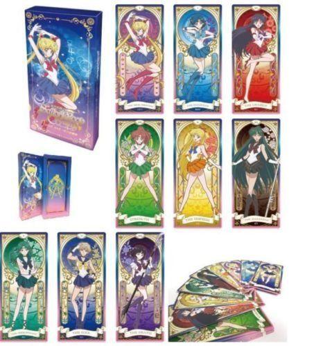 Sailor Moon Crystal tarot cards! #sailormoon #sailormooncrystal #anime #geek #japan