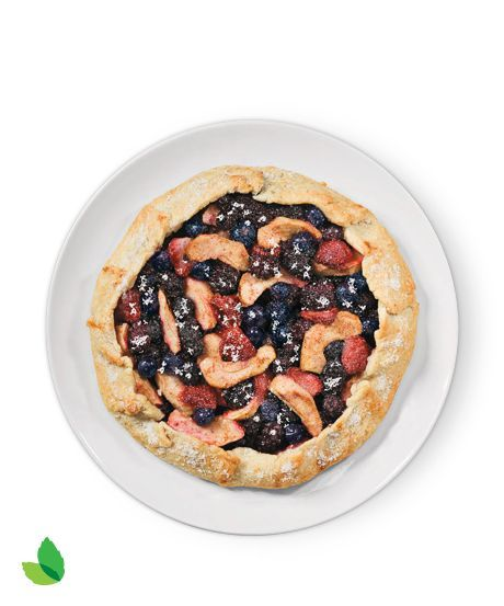Apple Berry Galette Recipe with Truvía® Natural Sweetener