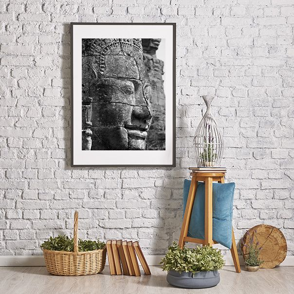 Plakat Budda Wisznu z Angkor