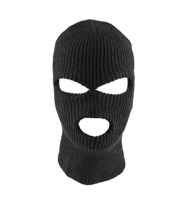 Knit Black Face Cover Thermal Ski Mask For Cycling Sports Cl128vubt4n Ski Mask Ski Mask Tattoo Face Cover