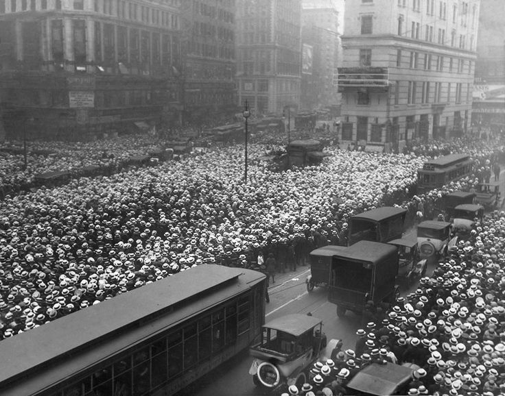 When hats were in fasion: Time Squares, Jersey Cities, York Cities, George Carpenti, Carpenti Fight, Jack O'Connel, New York Time, Time Building, Jack Dempsey