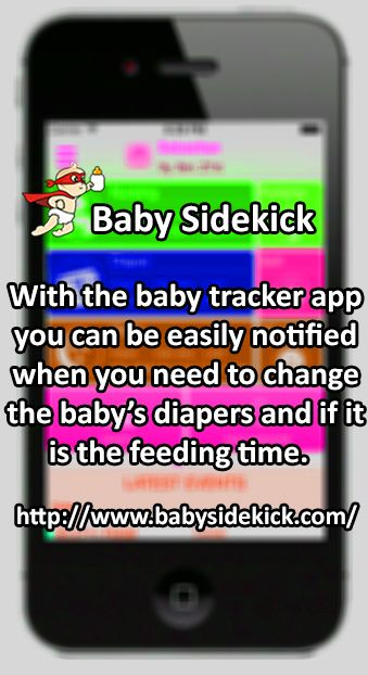 Visit www.babysidekick.com to learn more and download app for iPhone and Android now.