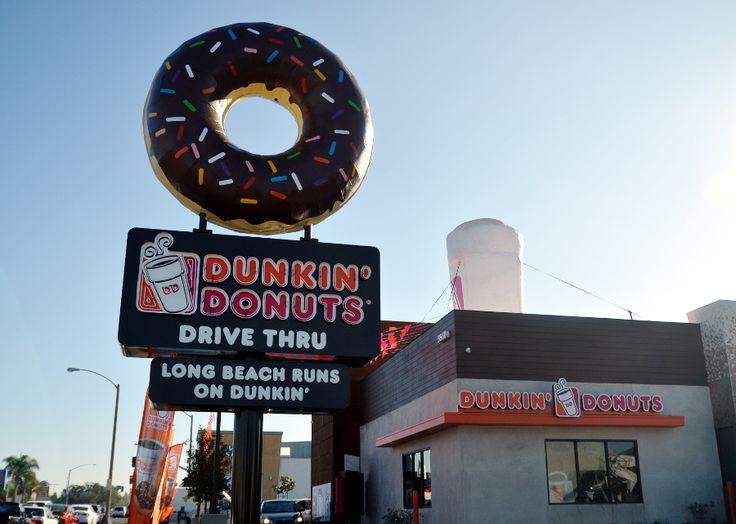 Dunkin` Donats City of Long Beach in California