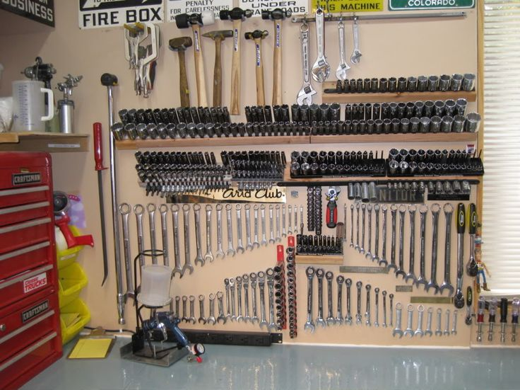 how to organize garage tool ideas | post pics of how you organize your sockets - Page 3 - The ...