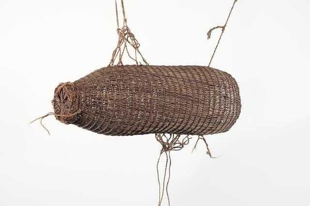 Basket Weaving New Zealand : Best fish traps weel images on