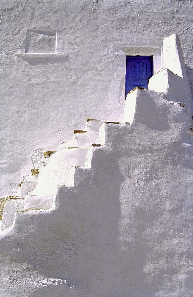 White and blue of Amorgos