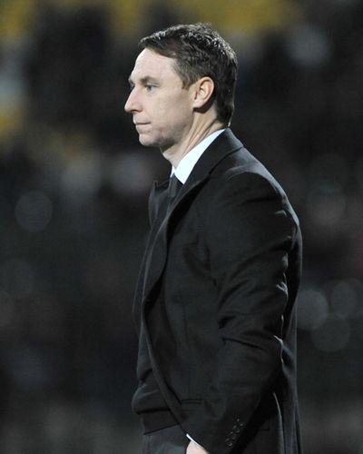 Jamie Fullarton, Notts County new manager. Notts County vs AFC Wimbledon Copyright B&O Press Photo