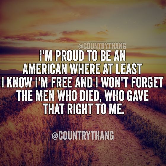 Proud to be an american essay