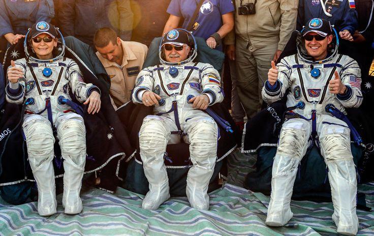 El día de ayer regresaron tres astronautas de la Estación Espacial Internacional (ISS), se trata del astronauta ruso Fyodor Yurchikhin de Roscosmos #ISS #NASA #Roscosmos #Espacio #Ciencia