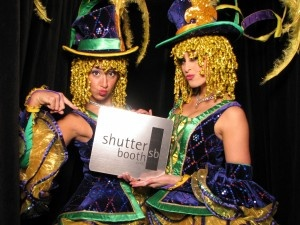 Mardi Gras celebrations in the ShutterBooth photo booth! Amazing costumes!