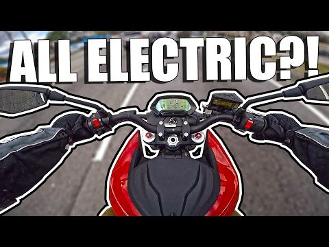 Test Riding Zeros Electric Motorcycle Rmotorcycles Totally