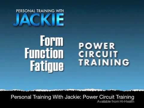 Jackie Warner Power Circuit Training DVD Introduction Video: Now you can experience Jackie's personal training at home with the next generation of her signature circuit workouts. She's added the Power Burn, an amped up addition to her famous formula for ultimate weight loss and accelerated results!     These are maximum efficiency workouts that will give you the body-changing results in whatever training time YOU have available.