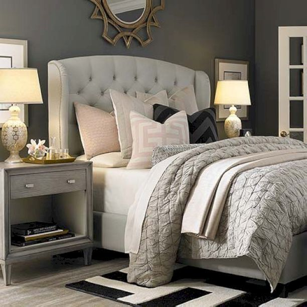 78 Stunning Small Master Bedroom Decorating Ideas