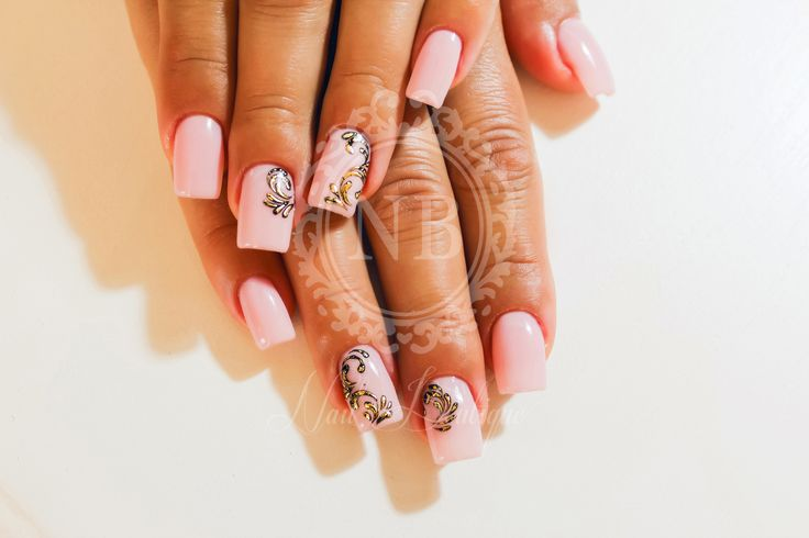 pIN THESE NAILS. pINK