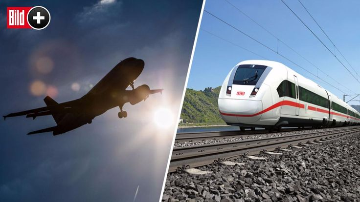 *** BILDplus Inhalt *** Hier ist der Zug schneller - Die sinnlosesten Flugstrecken in Deutschland