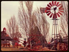 Red Free State Windpomp