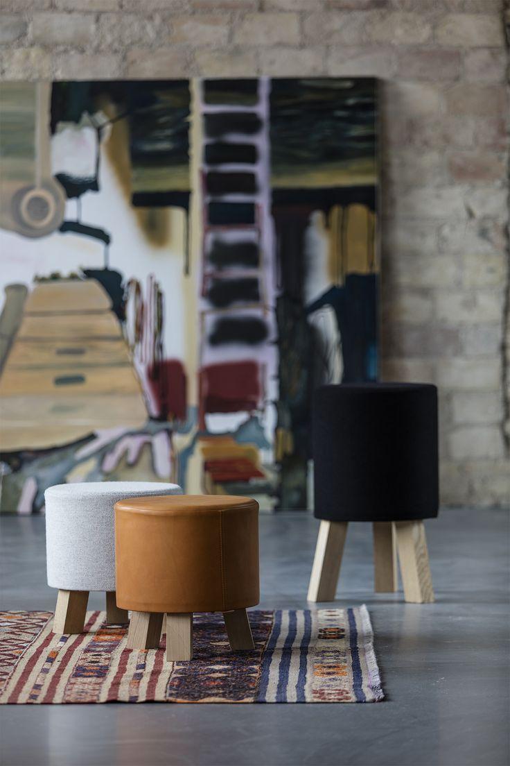 STOOLS designed by Anne Boysen #stool #skammel #anneboysen #skamler #ottoman #fodskammel #pouf
