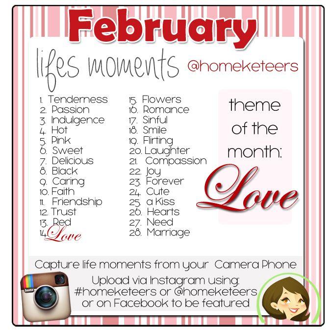 February life moments