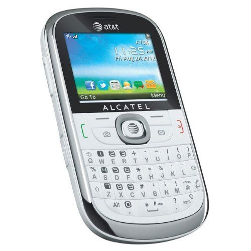 Stay in touch with friends and family with this AT&T #Alcatel 871A no-contract mobile phone that features text, multimedia and video messaging for simple communi...