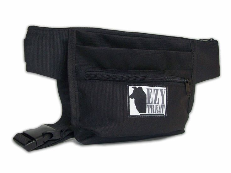 Ezy Treat®  - TOP QUALITY Dog Treat Pouch for POSITIVE REWARD TRAINING with an Easy Open Close Spring Hinge
